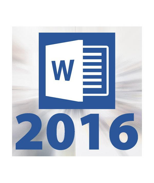 Microsoft Office Word 2016 (CON TUTOR)